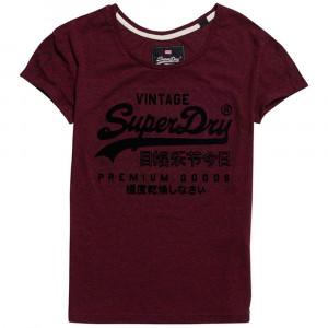 Premium Gds Emboss Slim Bf T-Shirt Mc Femme