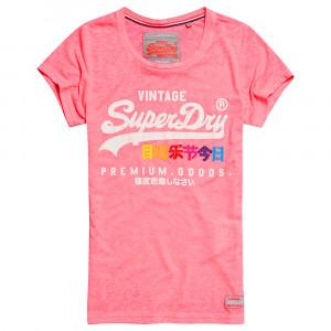 Premium Goods Burnout T-Shirt Mc Femme