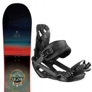 Pulse Snowboard+Rhythm Fixations Homme