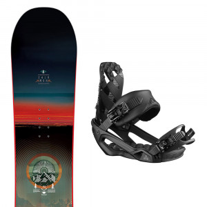 Pulse Snowboard+Rhythm Fixations Homme