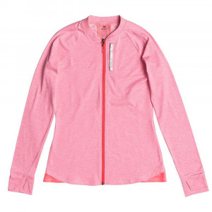 Purple Sky Sweat Zip Femme