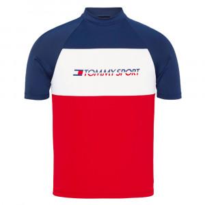 Rashguard T-Shirt Mc Lycra Surf Homme