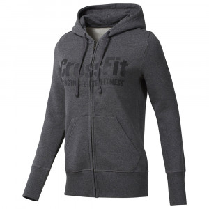 Rcf Full Zip Sweat Zip Femme