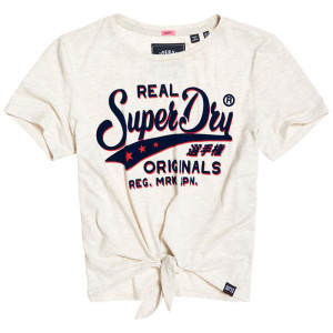 Real Original Shadow Knot T-Shirt Mc Femme