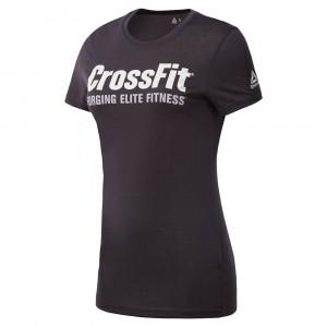 Reebok Sport Crossfit Speedwick Fef T-Shirt Mc Femme