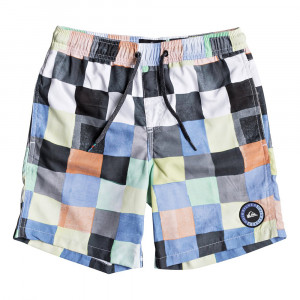 Resin Check Short De Bain Garçon
