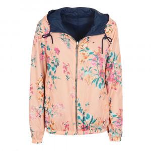 Reversible Floral Blouson Femme