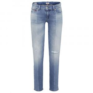 Rise Skinny Jeans Femme