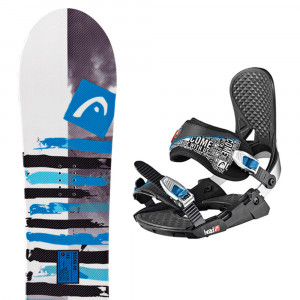Rocka 4D Speed Disc Snow + P Three 4D Speeddisc Fixations Homme
