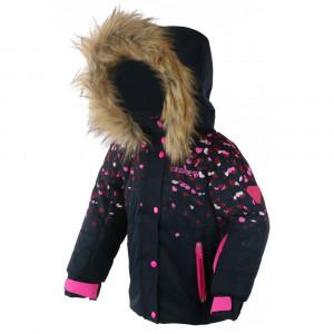 Rose Blouson De Ski Fille