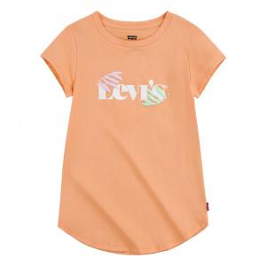 Round Hem Graphic T-Shirt Mc Fille