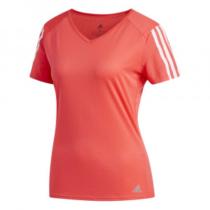 Run 3-Stripes T-Shirt Mc Femme