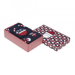 Santa Gift Box Chaussettes Homme