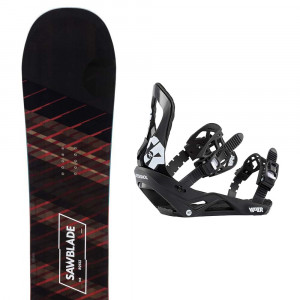 Sawblade Snowboard + Viper Fixation Homme