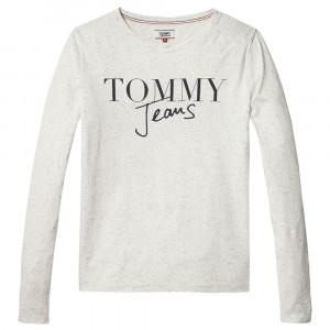 Script Logo T-Shirt Ml Femme