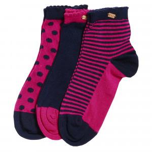 Sd Scallopedg Chaussettes Pack X3 Femme