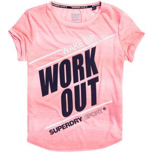 Sd Sport Fitspiration Ombre T-Shirt Mc Femme