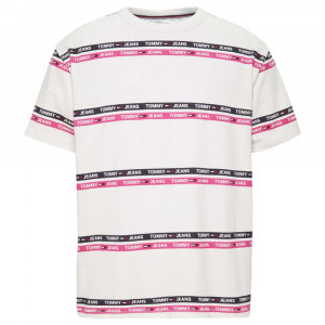 Signature Stripe T-Shirt Mc Homme