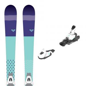 Ski Kaya 72 + Fixations White/gr B80 Femme