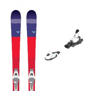 Ski Kaya 77 + Fixations White/gr B80 Femme