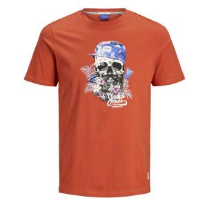 0. Skull Tour T-Shirt Mc Homme