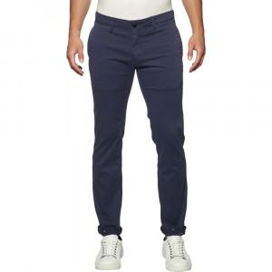 Slim Printed Soft Chino Pantalon Homme