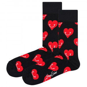 Smiley Heart Chaussettes Femme
