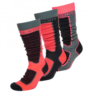 Snow Sock Triple Chaussettes Ski Femme