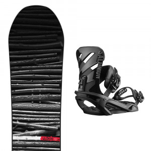 Snowboard Craft+Fixations Rhythm Homme