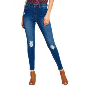 Sophia High Waist Super Skinny Jeans Femme