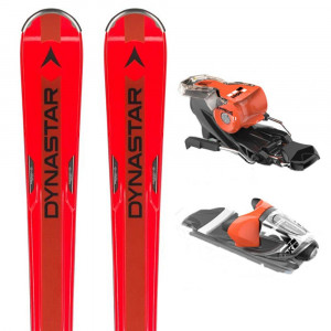 Speed Zone 7 Red Ski + Xpress 11 B83 Fixation Homme