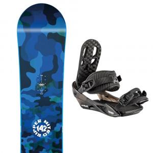 Spirit Snowboard + 20 Charger Fixations Garçon