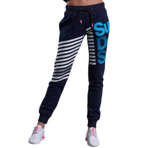Sport Label Diagonal Pantalon De Survêtement Femme