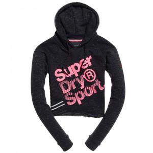 Sport Label Diagonal Sweat Cap Femme