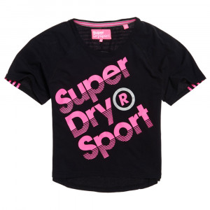 Sport Label Hot T-Shirt Mc Femme