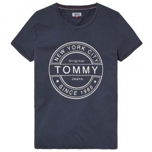 Stamp Logo T-Shirt Mc Femme
