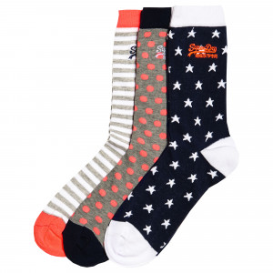 Star Chaussettes Pack X3 Femme