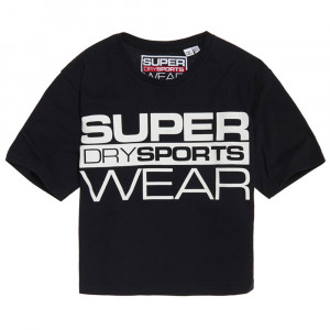 Street Sports Crop T-Shirt Mc Femme