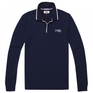 Stretch Long Polo Ml Homme
