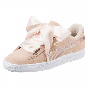 Suede Heart Chaussure Femme