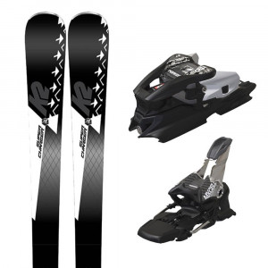Super Charger Ski + Mxcell 12 Tcx D Fixation Homme