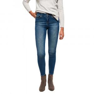 Super Vintage-Skinny Mid Rise Jeans Femme