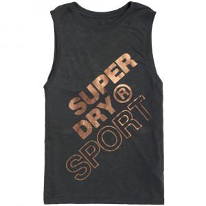 Superdry Sport Boyfriend Layer Débardeur Femme