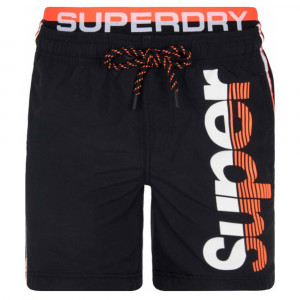 Superdry State Volley Swim Short De Bain Homme