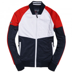 Tech Tricot Bomber Sweat Zip Homme