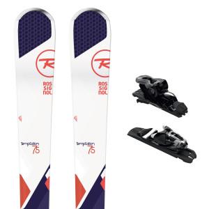 Temptation 75 Ski Femme + Express 10 Rts B83 Fixations