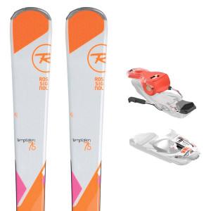 Temptation 75 Ski Femme + Express W10 Fixations