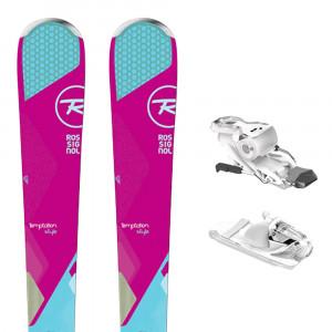 Temptation 84 Style Ski Femme + Express W10 B93 Fixations