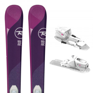 Temptation Pro Kx Ski + Kid-X 4 B76 Fixations Fille