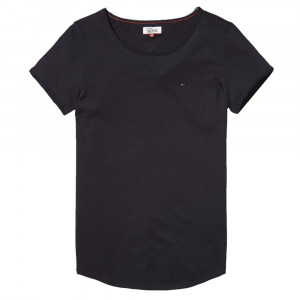 Thdw Basic Cn Knit S/s 14 T-Shirt Mc Femme